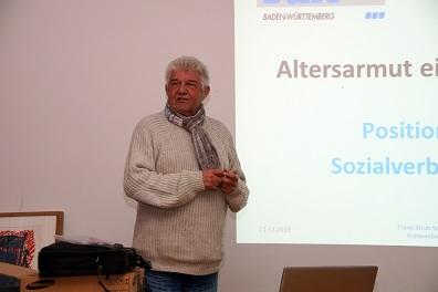 Frank Stroh spricht bei den SPD-Senioren zum Thema Altersarmut